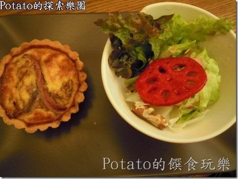 《台南早午餐》吃一個不一樣的『鵪鶉鹹派』
