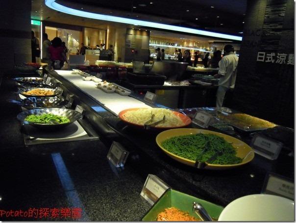 高雄漢神巨蛋海港餐廳。日式料理區。