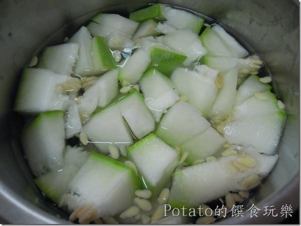 冬瓜蛤蜊湯做法
