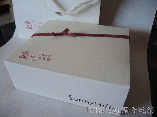微熱山丘--蜜豐糖蛋糕禮盒1