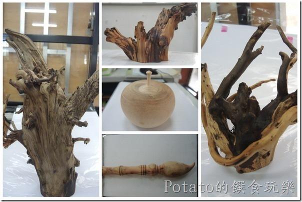 木頭收藏品