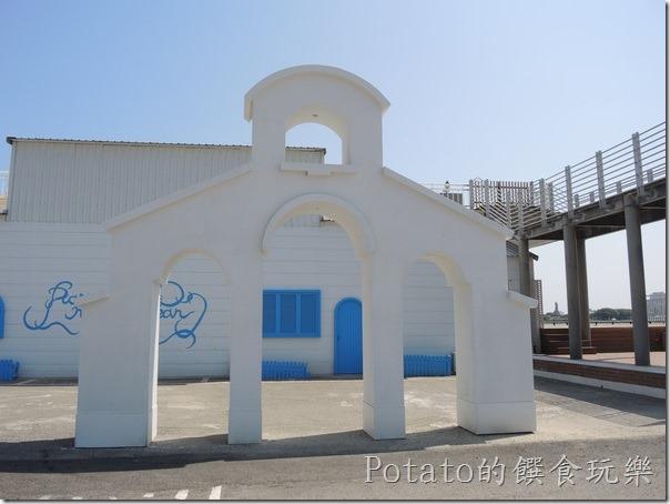 碧海碼頭的戀愛廣場