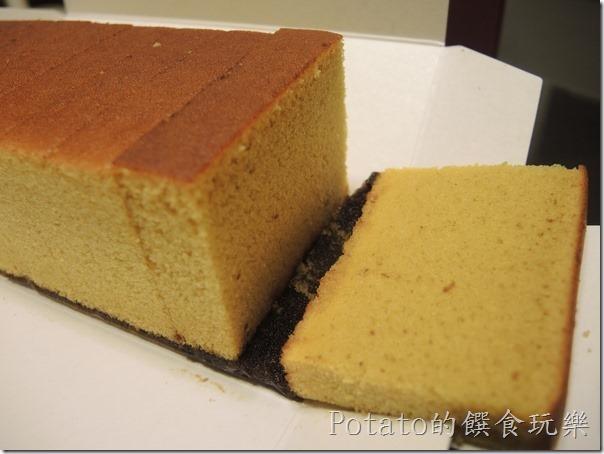 微熱山丘--蜜豐糖蛋糕切片