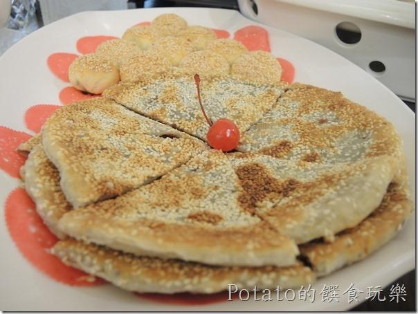 花蓮闔家歡餐廳--鍋餅