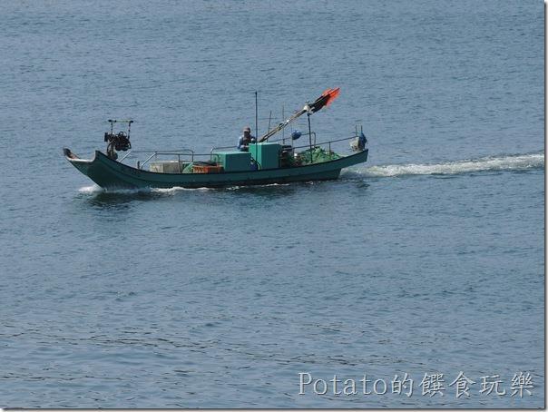 碧海碼頭的漁船