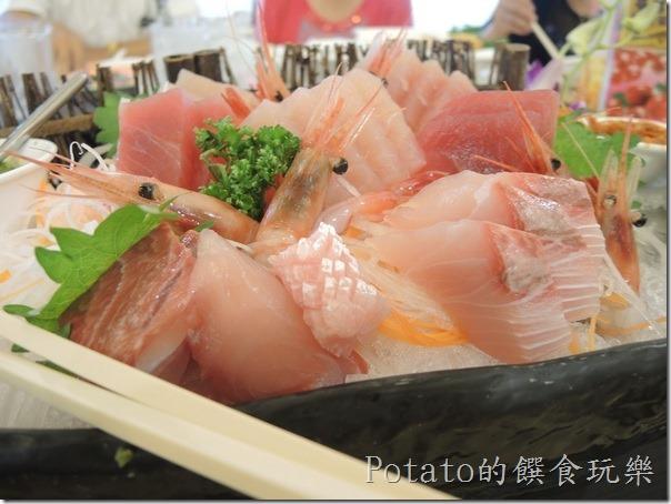 花蓮闔家歡餐廳--生魚片