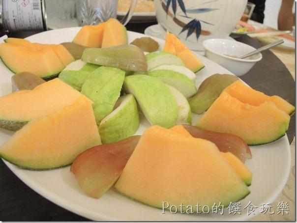 花蓮闔家歡餐廳--水果