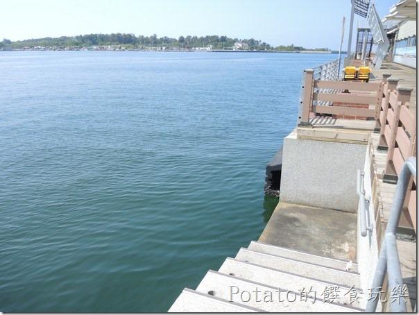 碧海碼頭的海景餐廳--碼頭