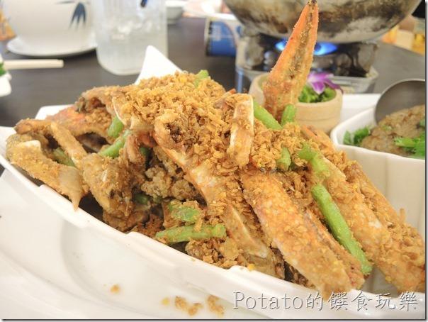 花蓮闔家歡餐廳--避風塘花蟹