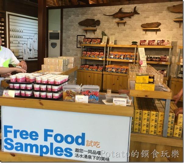 立川魚場的賣場
