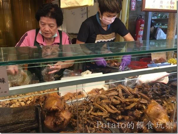 《台南美食》2018「傳統市場」星級名攤十大滷味:東菜市【劉記煙燻魯味】