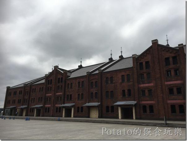 橫濱港口的紅磚倉庫4