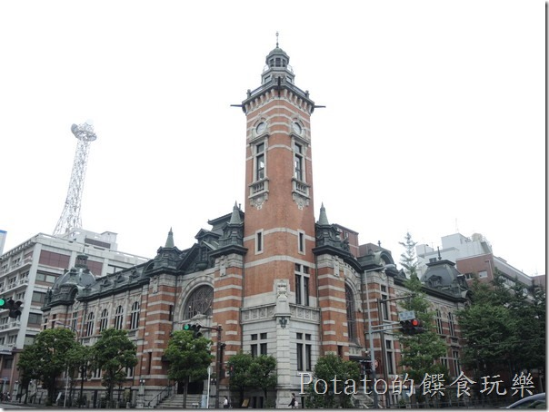 橫濱港口的開港紀念館