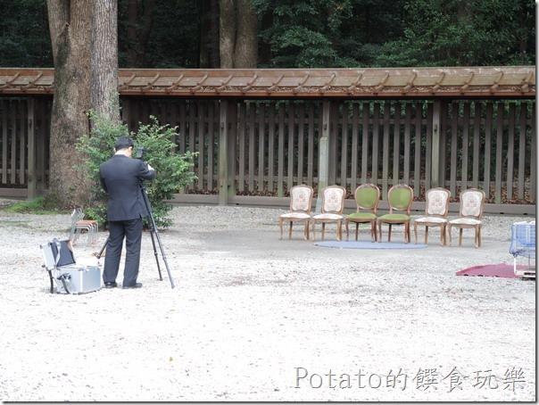 明治神宮內拍攝婚照地點