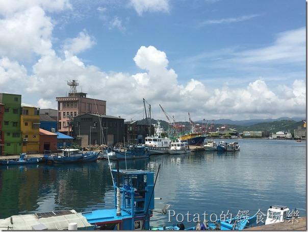 正濱漁港彩虹屋1