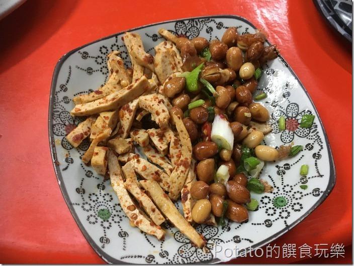 台南竹仔店海鮮燒烤-招待小菜