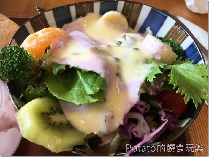 小日子咖啡蔬菜沙拉1