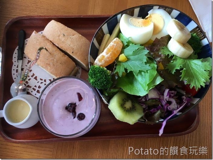 小日子咖啡蔬菜沙拉11