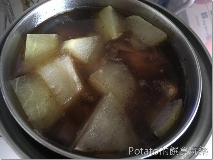 冬瓜排骨酥湯4
