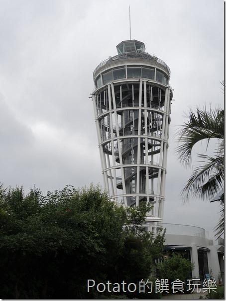 日本鐮倉江島神社燭台登高塔
