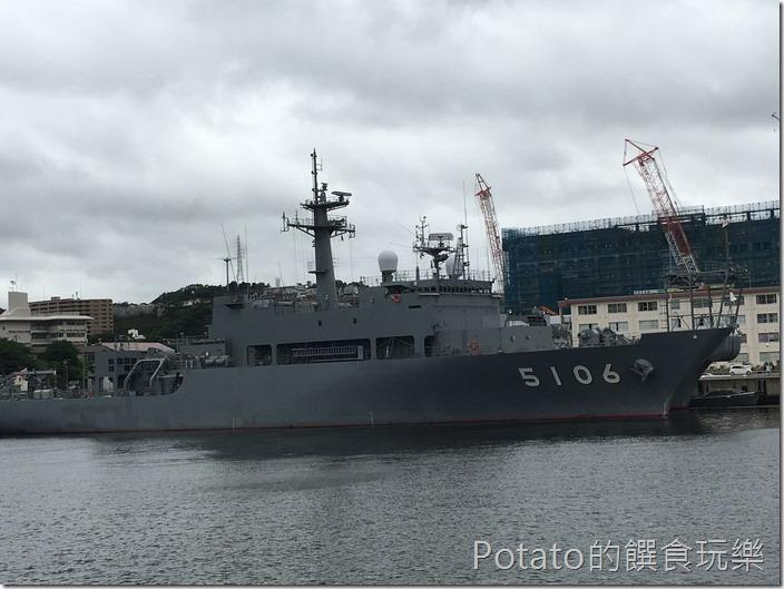 橫須賀軍港-觀光船1