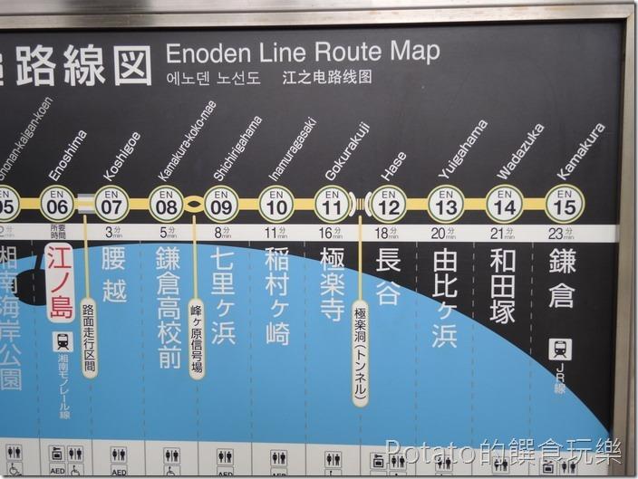 鐮倉之旅江之島站12