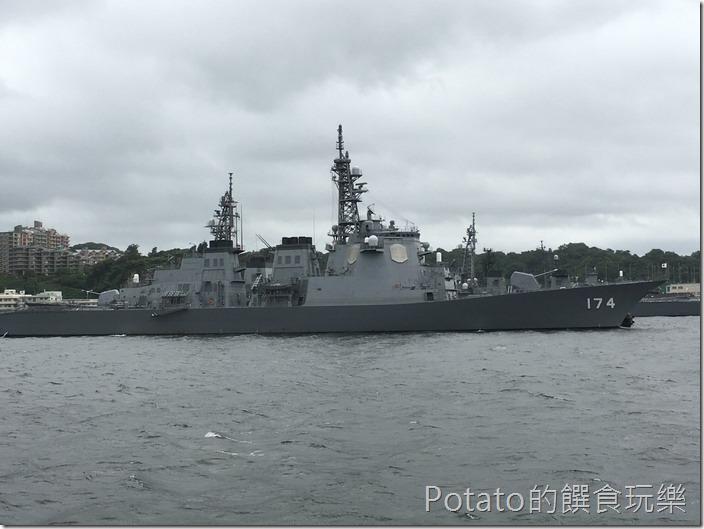 橫須賀軍港-觀光船2
