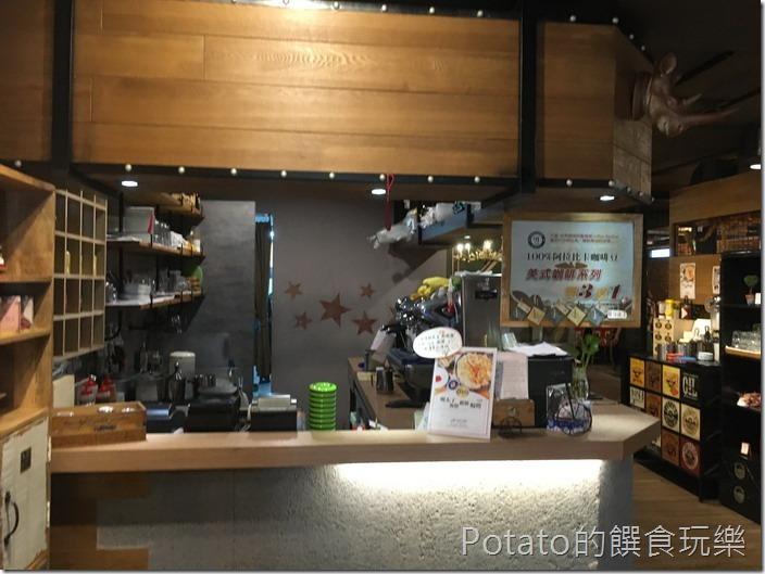 多一點咖啡美學店餐廳櫃台