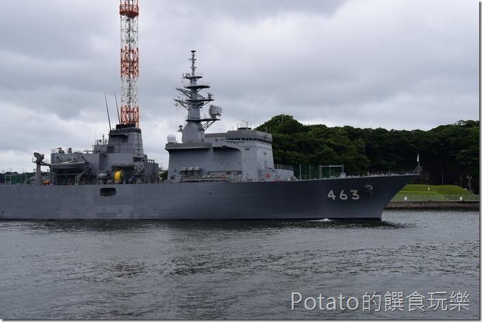 橫須賀軍港-觀光船
