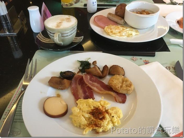礁溪長榮鳳凰酒店早餐1