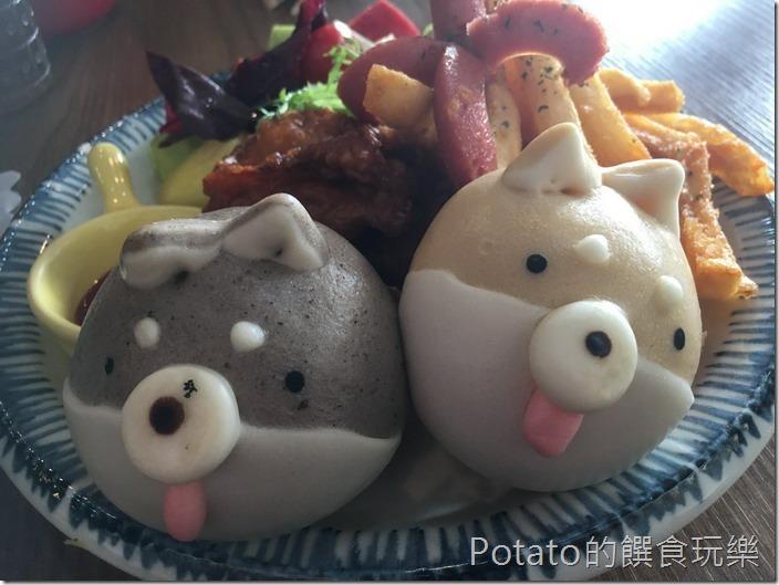 豆弄早午餐雙色柴犬餐1