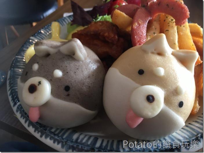 豆弄早午餐雙色柴犬餐11