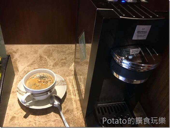 礁溪長榮鳳凰酒店咖啡機