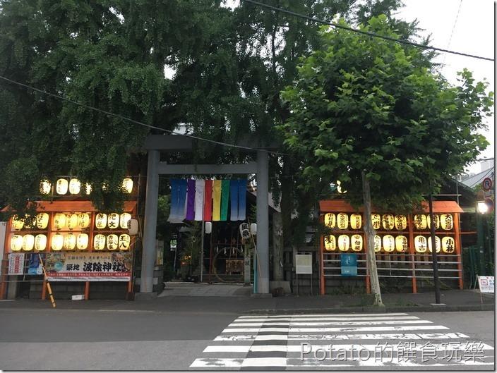 築地市場神社
