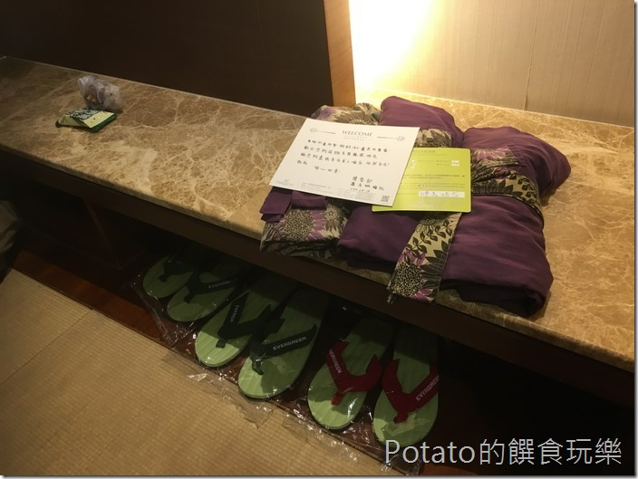 礁溪長榮鳳凰酒店浴衣