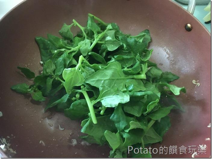 甜菠菜海鮮羹1