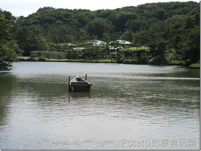 日本三溪園園景