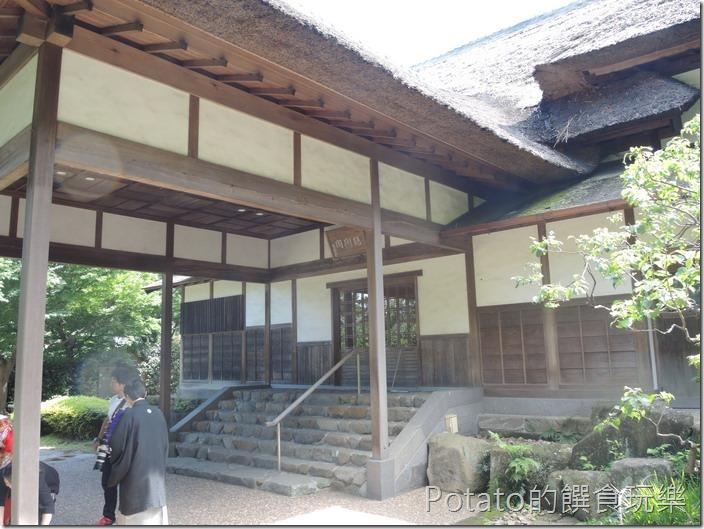 日本三溪園鶴翔閣1