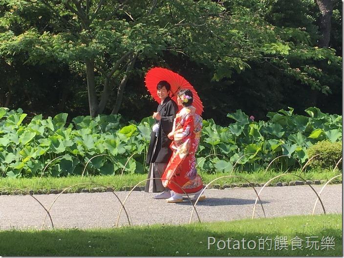日本三溪園婚紗照2