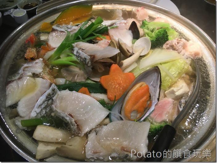 銀座日式料理海鮮火鍋1