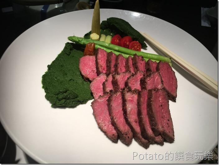 銀座日式料理舒肥牛肉1
