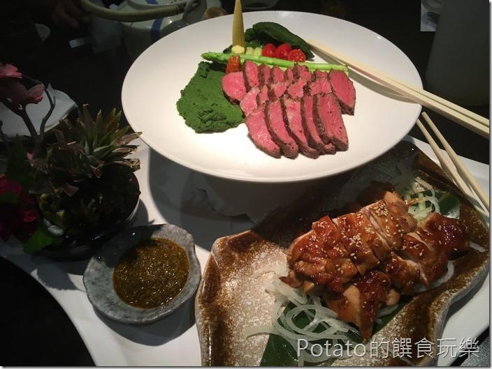 銀座日式料理雙拼