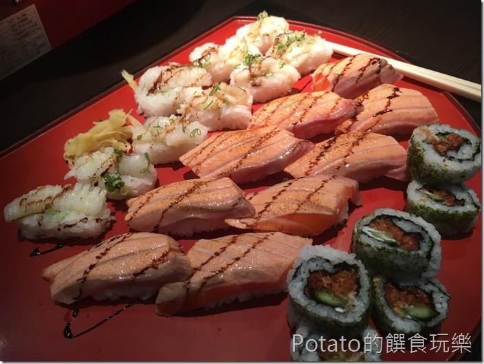 銀座日式料理粽合握壽司
