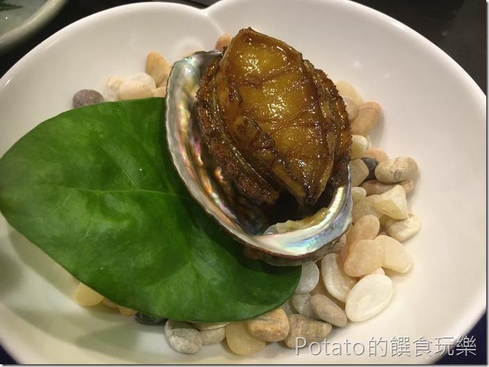 銀座日式料理鮑魚
