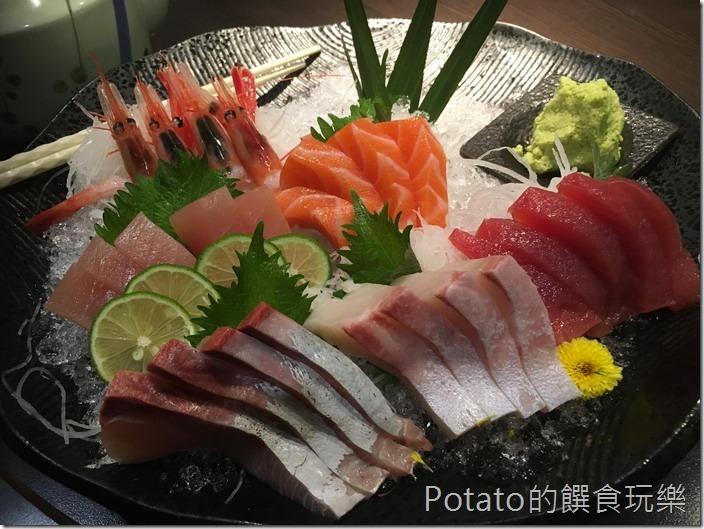 銀座日式料理生魚片大拼盤