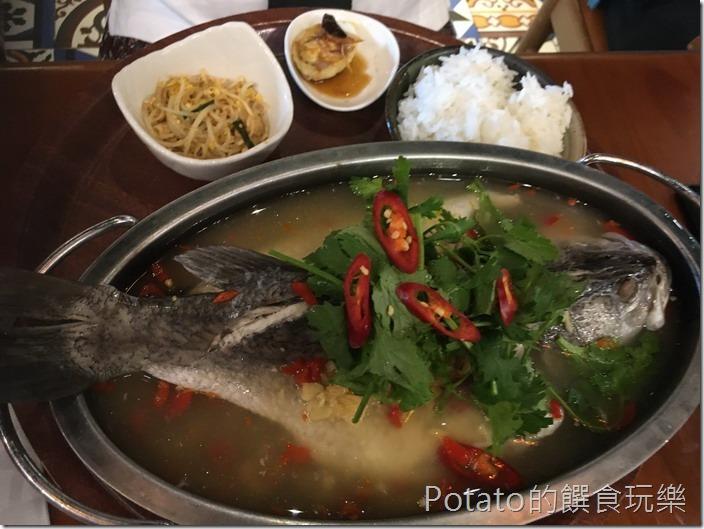 右手餐廳鱸魚1