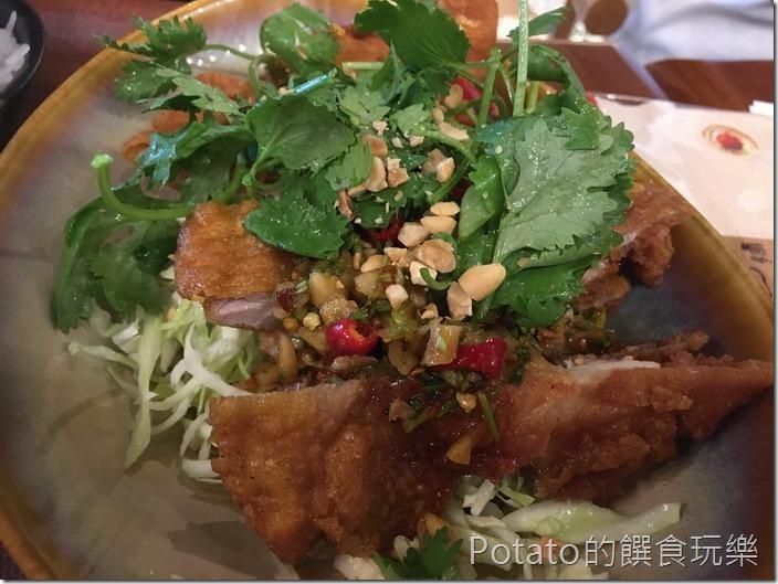 右手餐廳椒麻雞1