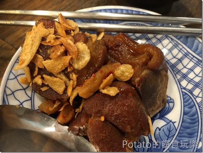 香香老師私房菜豬腳飯1