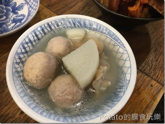 香香老師私房菜貢丸湯