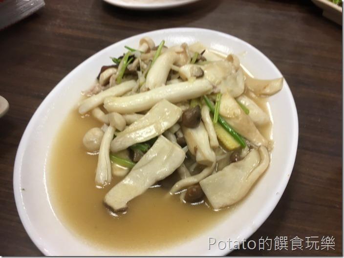 【欣欣麵館】炒鮮菇